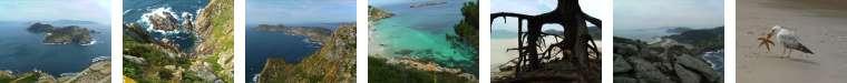 Bilder von Cies - dem angeblich schönsten Strand der Welt.