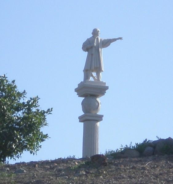 Christoph kolumbus statue auf gran canaria