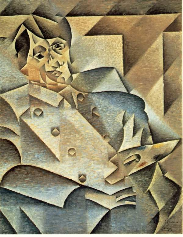 pablo picasso portrt von juan gris spanien bilder. Black Bedroom Furniture Sets. Home Design Ideas