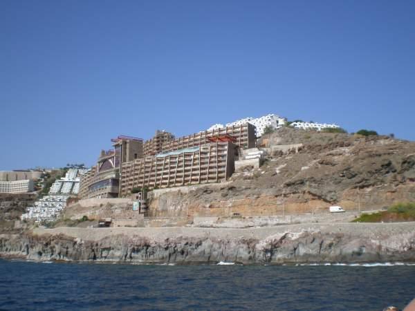 hotelanlage in puerto rico spanien bilder. Black Bedroom Furniture Sets. Home Design Ideas