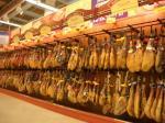 Jamon im Supermarkt