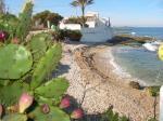 Costa Blanca Blick an der Küste