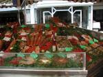 Frische Meeresfrüchte