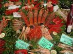 Meeresfrüchte frisch aus dem Mittelmeer