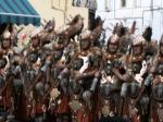 Mit historischen Kostümen wird die Reconquista nachgespielt
