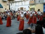 Tanzende Frauen erinnern an das arabische Erbe Spaniens
