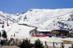 Skifahren in der spansichen Sierra Nevada.