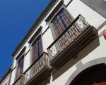Balkone an den Häusern