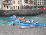 Fischerboote im Puerto Pesquero