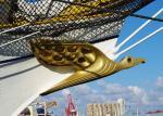 Galionsfigur der Gorch Fock - der Albatros
